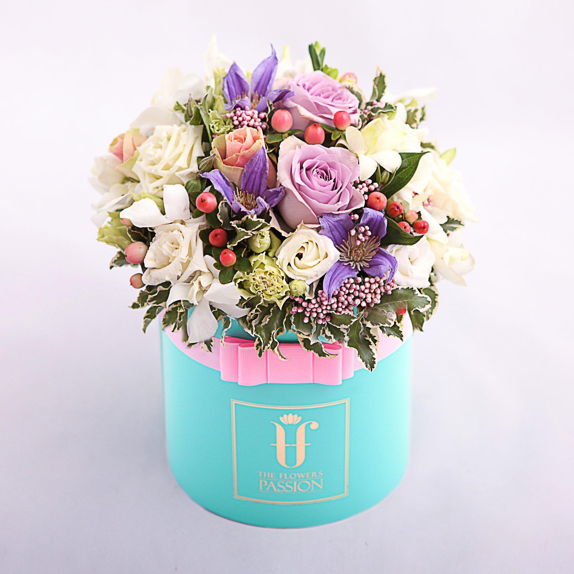 картинки цветы в коробке оригинальные разложить полочкам всё
