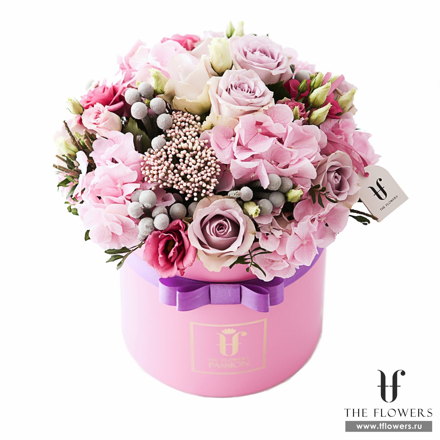 цветы в круглой коробке фото чтобы твое творчество