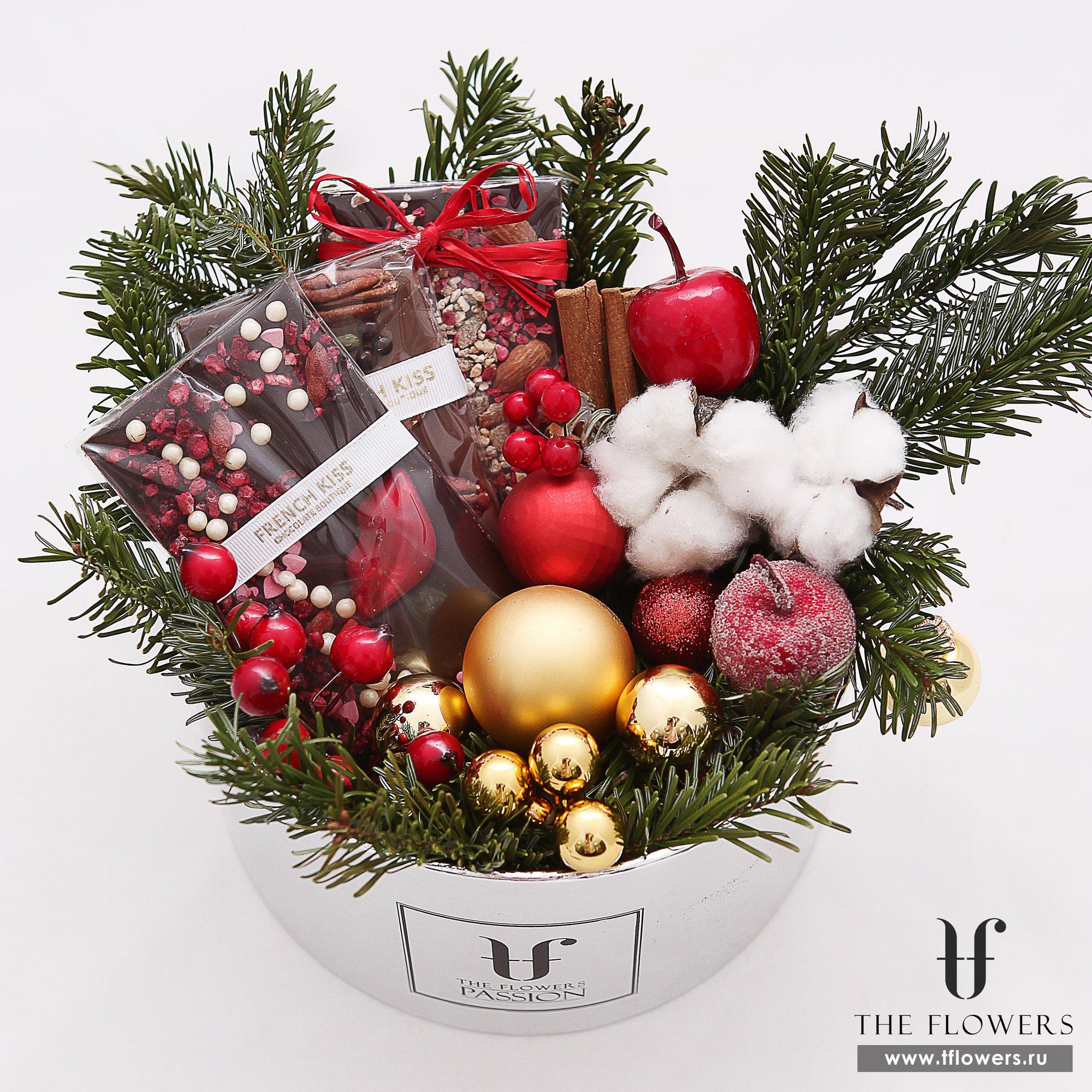 Заказ новогоднего букета в тамбове, магазины цветов